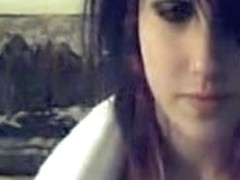 Hot teen EMO tits on a webcam