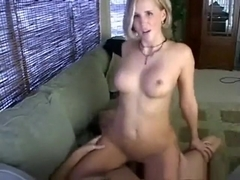 Naught milf caught in action...