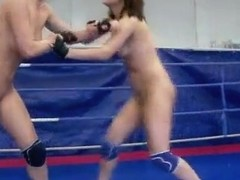 NudeFightClub presents Kitty Cat vs Madlin
