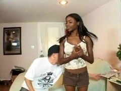 Hottest Ebony girl Fucked By Thick BWC