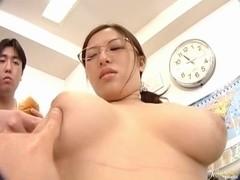 Meisa Hanai Hot Asian doll teaches sex education