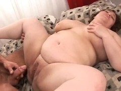 Aged Large Obese Jizz Pie 8