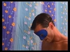 Horny Masked mature fucking with a younger masked guy