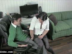 Mean Ballbusting Co-Worker