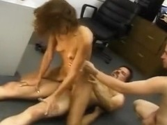 Ugly Redhead Swinger Wife Hardcore