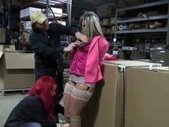 Submissive slut with big booty gets tortured