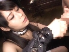Ruka Kanae nice Asian teen in cosplay cumfest