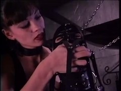 Jewel Marceau and Isabella Sinclaire in latex and leather