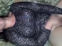 British woman sucking a cock and teases