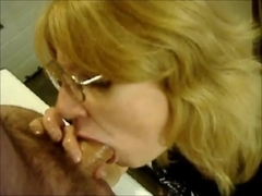 Blowjob and prostate massage