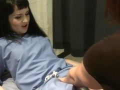 Nurse Fetish Fucking in the Doctors Office with TS Kendra Sinclaire