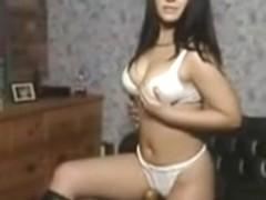 Teen experiments with masturbation