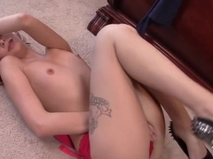 Exotic pornstars Ashlyn Molloy and Veronica Avluv in hottest lingerie, big tits xxx movie