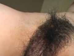 Homemade hairy Korean babe