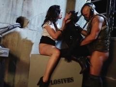 Exotic pornstars Sheba Silas, Aiden Ashley, Andy San Dimas in Amazing Pornstars, Cumshots adult mo.