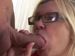Exotic pornstar in crazy swallow, blonde sex scene