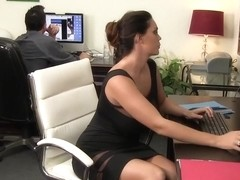 Ultra-Hot Alison Tyler Squeezes Cum On Her Giant Tits