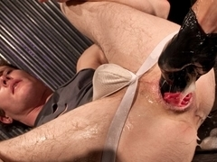 Ashley Ryder & Caedon Chase in Fistpack 31: Fist My Gaping Hole - ClubInfernoDungeon