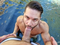 Seth Santoro & Tyler Roberts in Splash Buddies - GayRoom