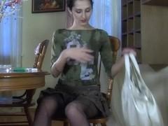 EPantyhoseLand Video: Cora