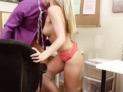 Scarlet Red & Bill Bailey in Naughty Office