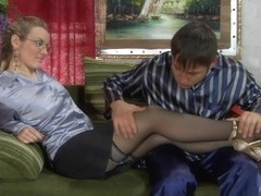 AnalScreen Clip: Connie and Govard