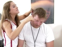 Katie Sands in Hairy Cherry