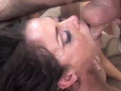 Cock addicted Savannah Stern does mind blowing head
