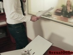 Sultry ###ary licked and fucked at work