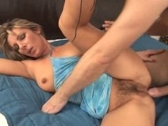 Fuck Unshaved Cum-Hole and anal with Creampie
