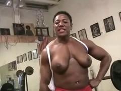Carmela Pumping up