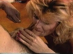 Ginger Lynn and Tom Byron in cream busters