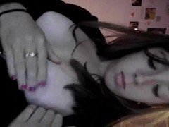 gf playing with her self