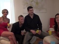 Abelia & Angel Piaff & Corrine & Derica & Ilsa in horny guys fuck skinny young porn chicks