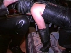 Xxx latex movie with me and a hot brunette in spandex