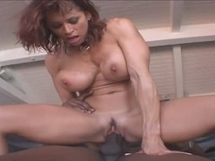Hardcore mature lady and large black dick