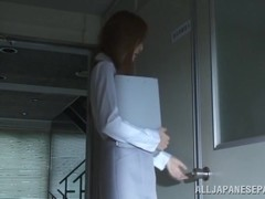 Frisky Japanese teacher Manami Suzuki in hardcore session