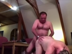 Babe with big bust fucked by my rod