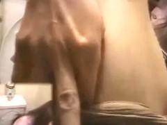 ViP Toilet Masturbation HAIRY Pussy girls - NV