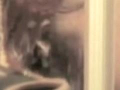 Spy cam shower closeups of big bodied amateur washing