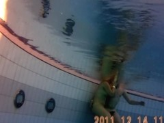 Under water voyeur cam shooting awesome nude body sauna-pool6