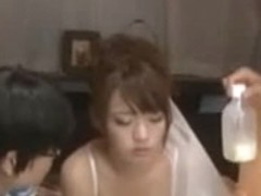 Perfectly cute Japanese broad enjoys amoral sex