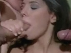 Italian babes enjoy a hard group fuck