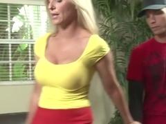 Crazy pornstar Jodi West in horny blonde, milf porn video