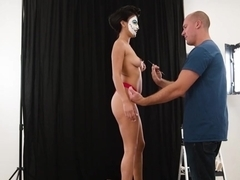 Michelle Martinez In Painted Pussy