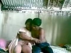 Juvenile indian couple fucking in a shack.avi