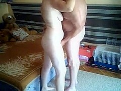 Amateur mature couple fucks with passion