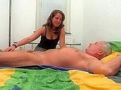 Schoolgirls Bed Massage HJ