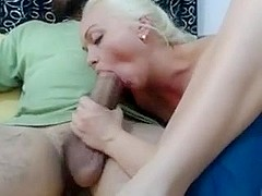 Hot Blonde Wife Loves Big Arab Cock
