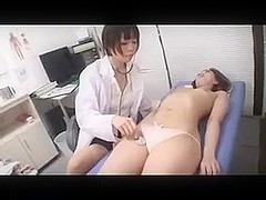 Asian girl visited her gynecologist